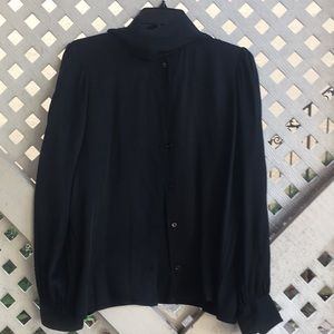 Saint Laurent silk blouse vintage